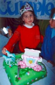 4 años de Tamara
